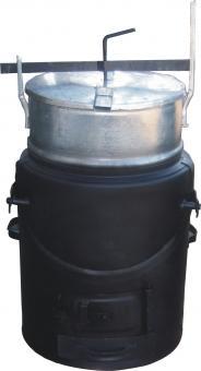 Futterdämpfer Gr. 63 Liter teilverzinkt